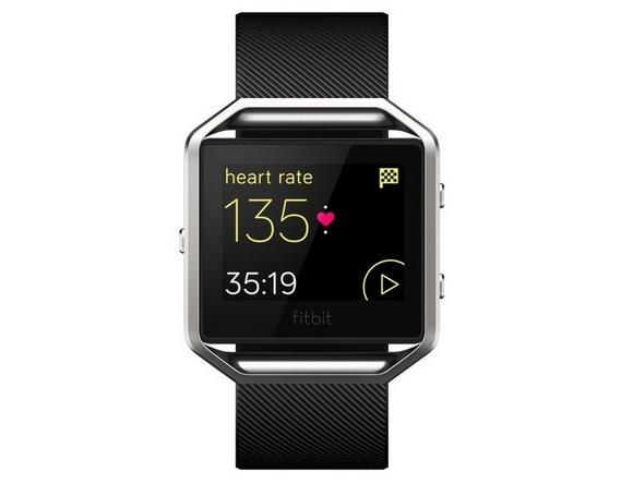 Для стильных и активных фитнес-трекеры JAWBONE и Fitbit уже в АЛЛО – Fitbit Blaze Black Small