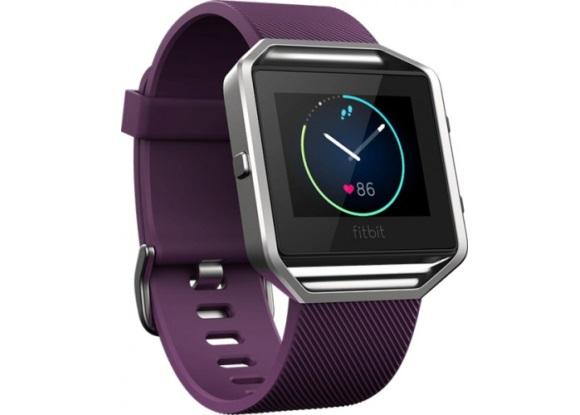 Для стильных и активных фитнес-трекеры JAWBONE и Fitbit уже в АЛЛО – Fitbit Blaze Plum Small