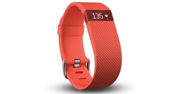 Для стильных и активных фитнес-трекеры JAWBONE и Fitbit уже в АЛЛО – Fitbit Charge HR спереди