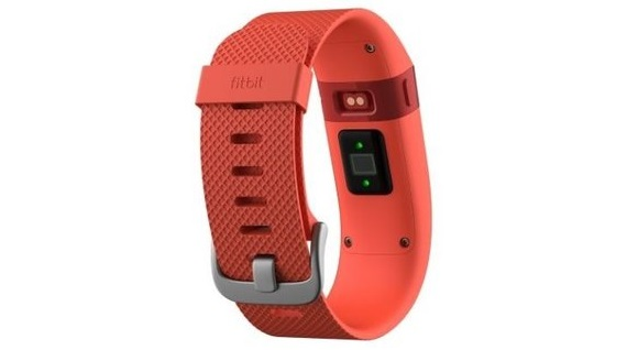 Для стильных и активных фитнес-трекеры JAWBONE и Fitbit уже в АЛЛО – Fitbit Charge HR сзади