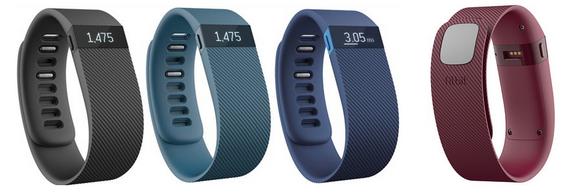 Для стильных и активных фитнес-трекеры JAWBONE и Fitbit уже в АЛЛО – Fitbit Charge цвета