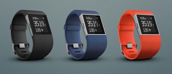 Для стильных и активных фитнес-трекеры JAWBONE и Fitbit уже в АЛЛО – Fitbit Surge цвета