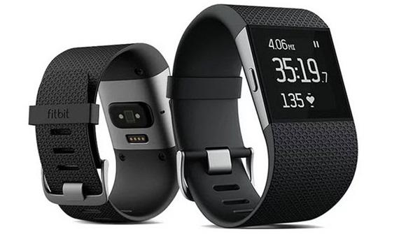 Для стильных и активных фитнес-трекеры JAWBONE и Fitbit уже в АЛЛО – Fitbit Surge вид