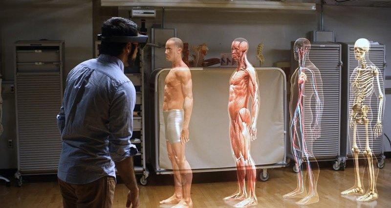 Дополненная реальность в медицине-технологии