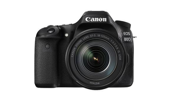 Canon представила новую зеркальную камеру EOS 80D
