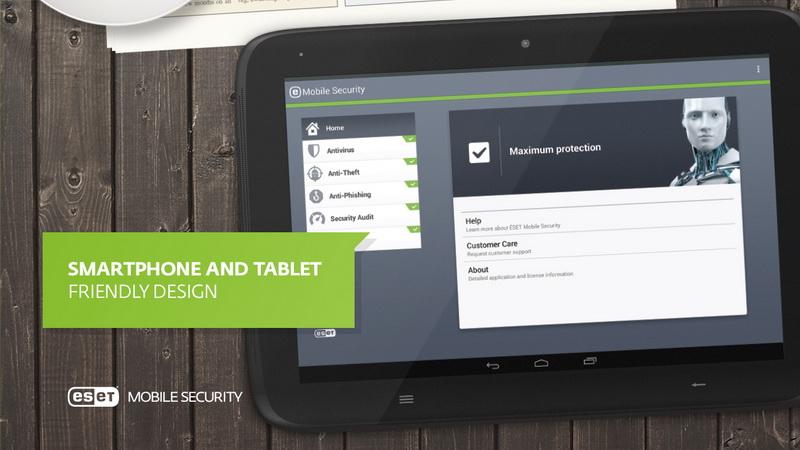 ESET Mobile Security-Антивирус для Андроида смартфонов и планшетов