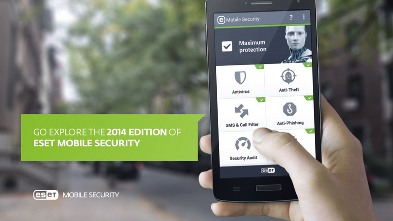 ESET Mobile Security - Интерфейс