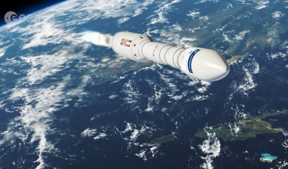 Европейское космическое агентство произвело запуск ракеты с украинским двигателем