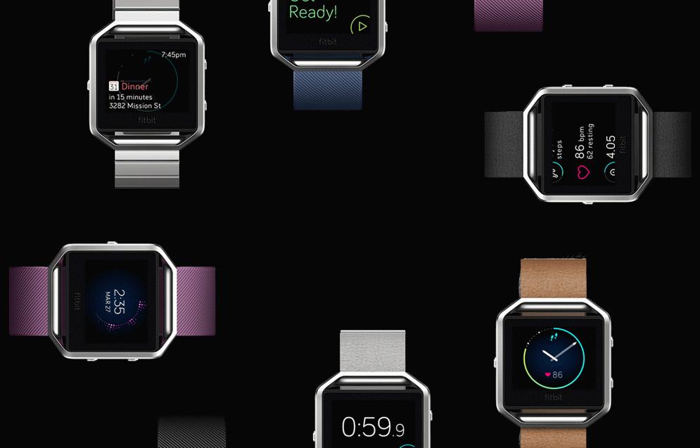 Fitbit Blaze-дизайн фото