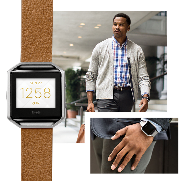 Fitbit Blaze-дизайн