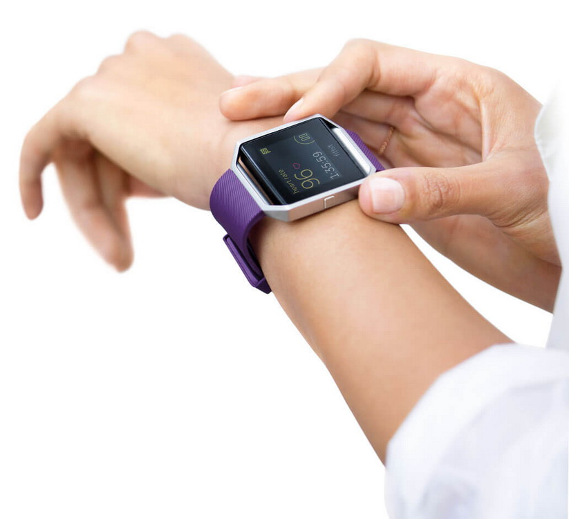 Fitbit Blaze-новые часы