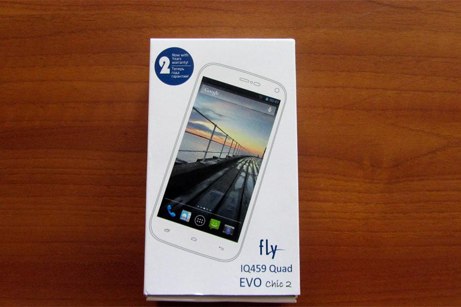 Fly IQ459 - Упаковка