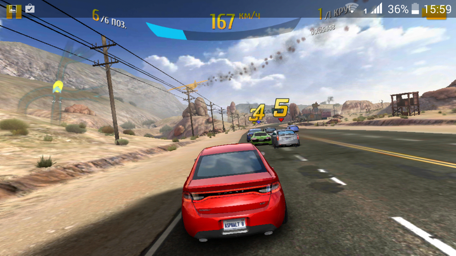Fly Tornado One- Asphalt 8
