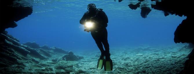 Фонари-подводная охота