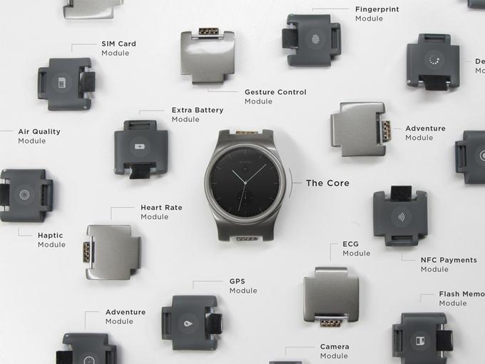 Фото. Стартап недели от АЛЛО. Blocks – первые в мире модульные смарт-часы. Blocks модули