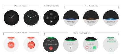 Фото. Стартап недели от АЛЛО. Blocks – первые в мире модульные смарт-часы. Интерфейс 1
