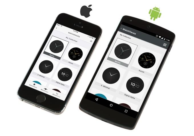 Фото. Стартап недели от АЛЛО. Blocks – первые в мире модульные смарт-часы. Приложение для смартфонов