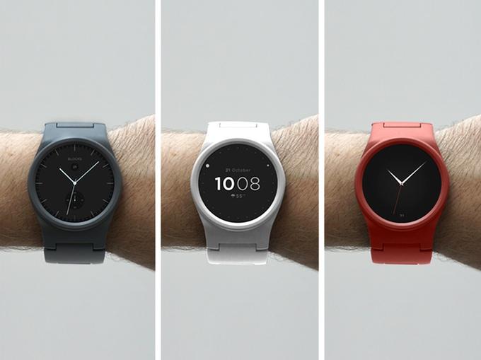 Фото. Стартап недели от АЛЛО. Blocks – первые в мире модульные смарт-часы. Цвета
