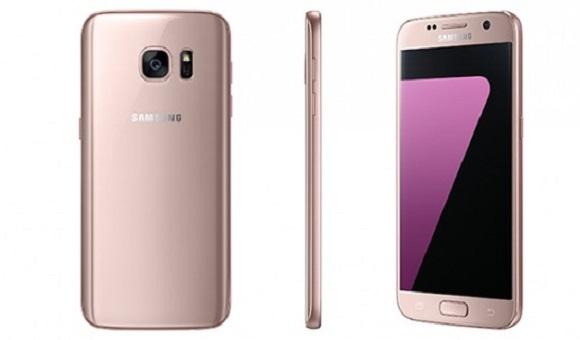 Galaxy S7 и S7 edge в цвете розовое золото - главное фото