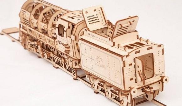 Деревянный 3D-конструктор для детей и взрослых - Ukrainian Gears