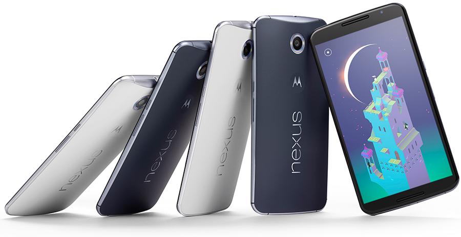Google Nexus 6 - главное фото