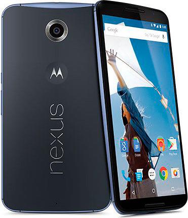 Google Nexus 6 - тёмный корпус
