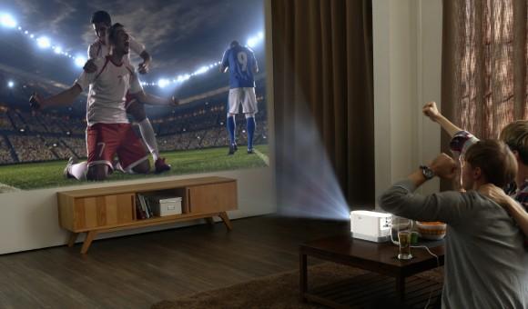 LG представит сверхъяркий лазерный проектор для домашнего кинотеатра