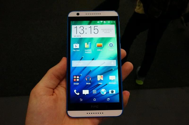 HTC Desire 820 - фронтальная панель