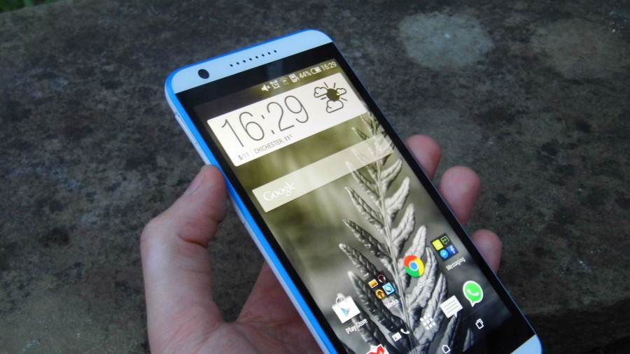 HTC Desire 820 - левая грань