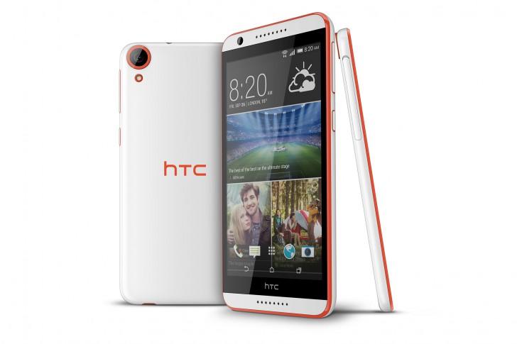 HTC Desire 820-ракурсы