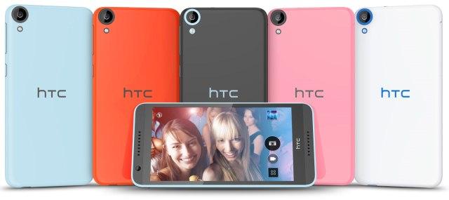 HTC Desire 820 - цвета