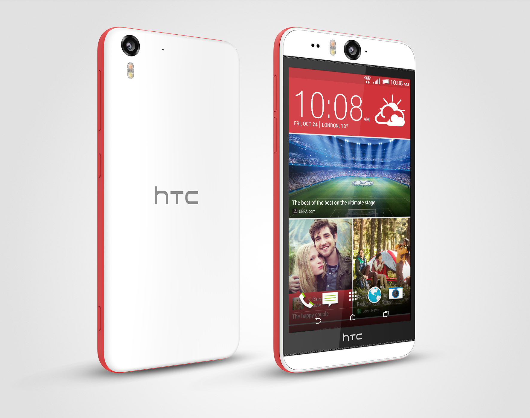 HTC Desire Eye - белый цвет