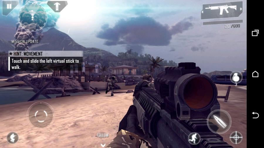 HTC Desire Eye - игра
