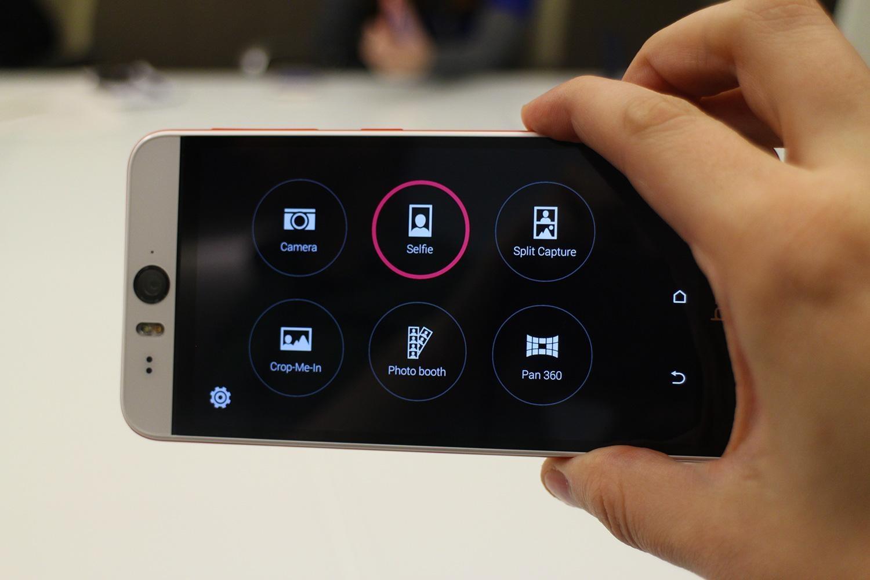 HTC Desire Eye - камера