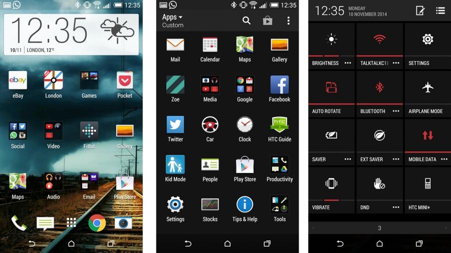 HTC Desire Eye - операционная система