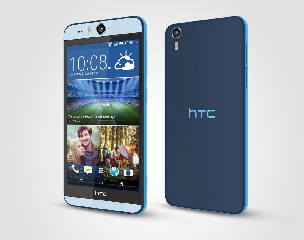 HTC Desire Eye - синий цвет