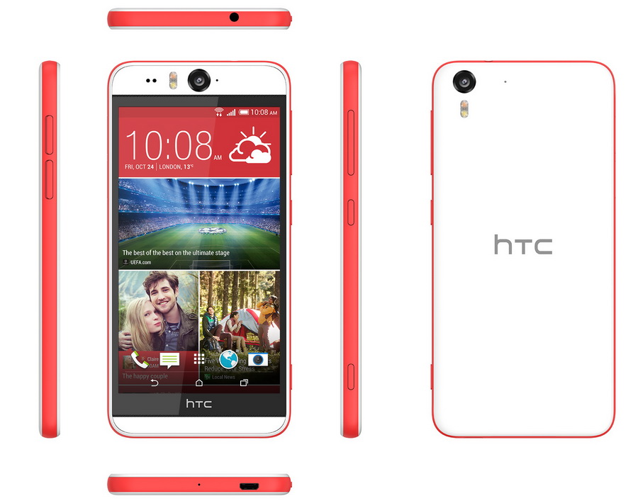 HTC Desire Eye-все ракурсы