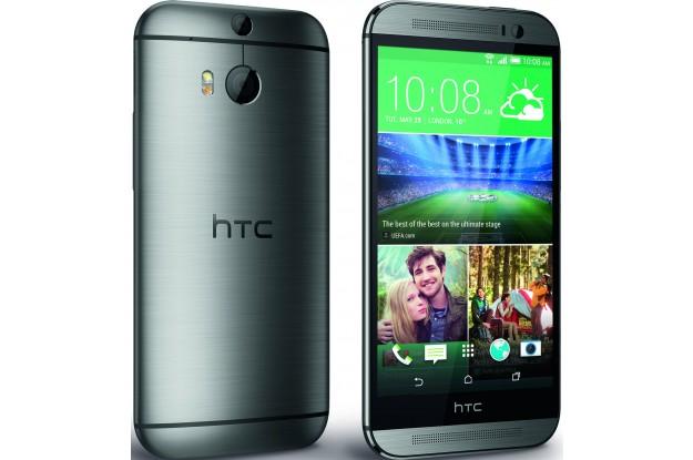 HTC One (M8) Dual Sim Grey-экран и задняя панель