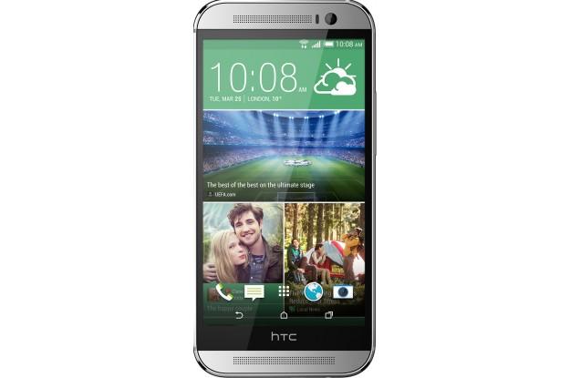 HTC One (M8) Dual Sim Silver-экран