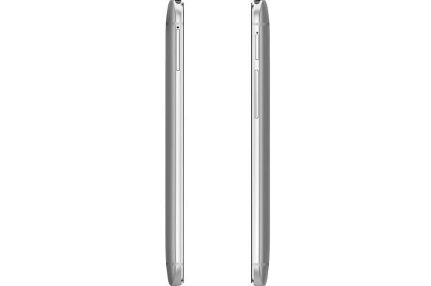HTC One (M8) Dual Sim Silver-левая грань интерфейсы