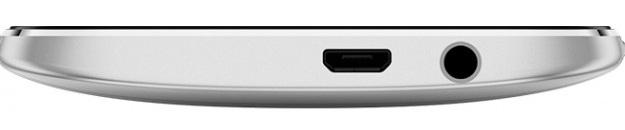 HTC One (M8) Dual Sim Silver-нижняя грань интерфейсы
