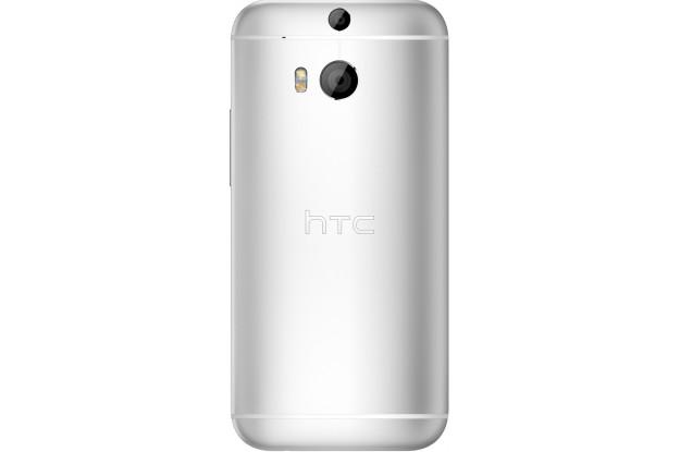HTC One (M8) Dual Sim Silver-задняя панель