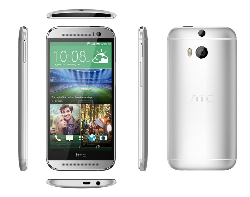 HTC One (M8) - дизайн