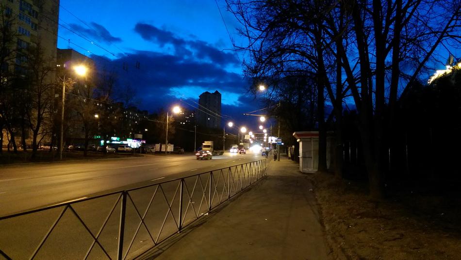 HTC One (M8)-режим ночь фото