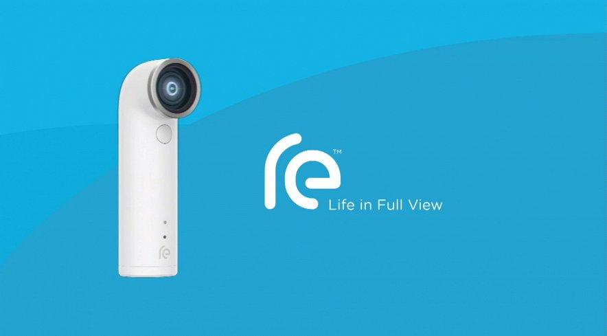 HTC RE-экшн-камера фон
