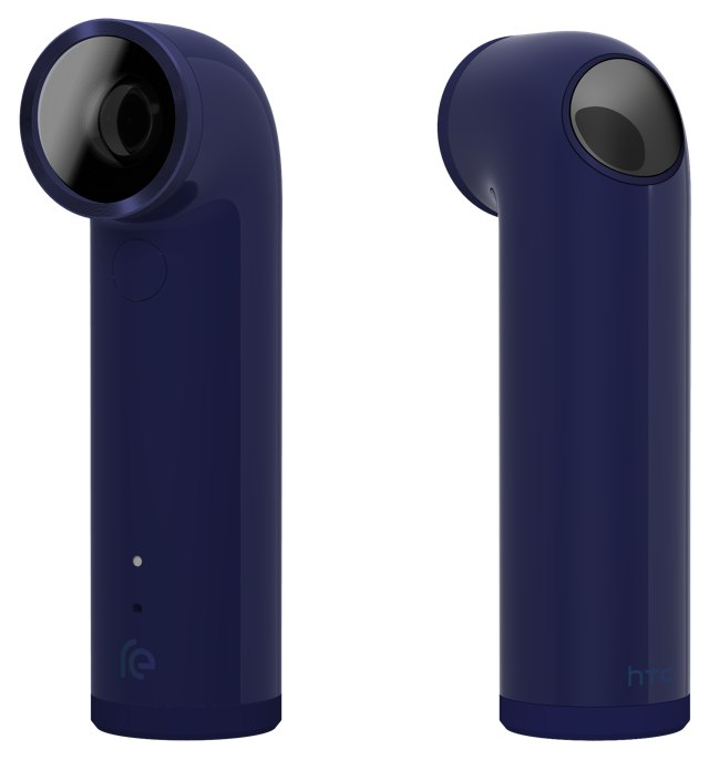 HTC RE-камера расцветка blue