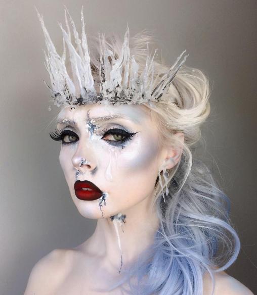 Образ для макияжа снежная королева