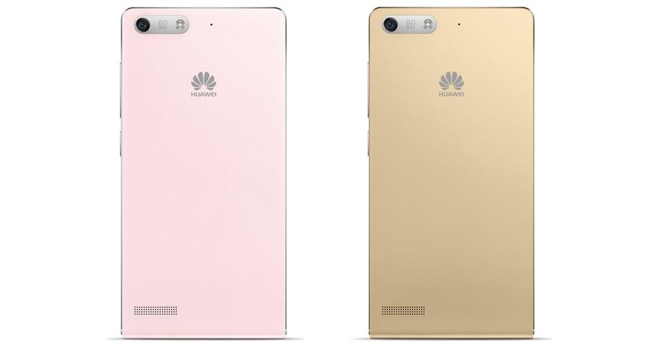 Huawei Ascend G6-U10 Blue-задняя панель