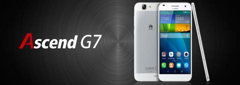 Huawei Ascend G7-имиджевая фотография