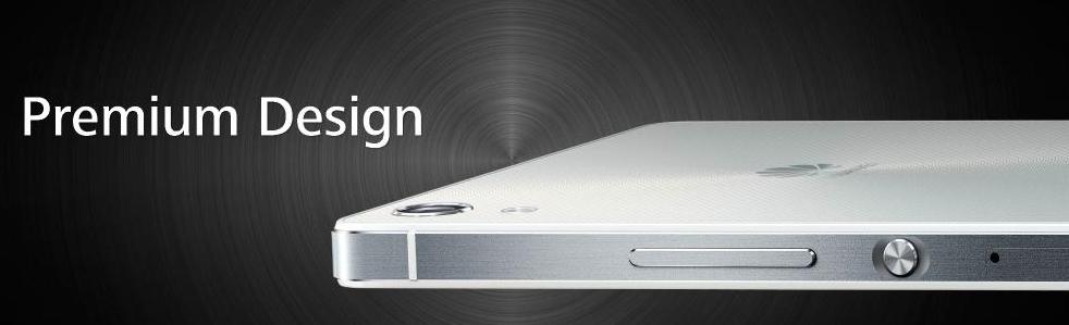 Huawei Ascend Mate 7-дизайн